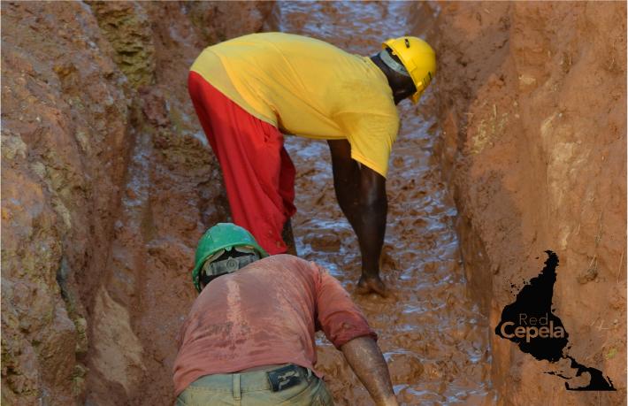Paro minero en Segovia