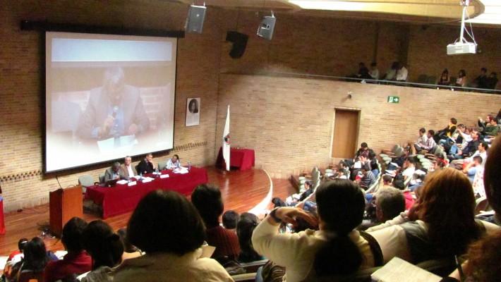 SE REALIZÓ EL SEMINARIO CONFLICTOS TERRITORIALES Y ACUERDOS DE PAZ EN COLOMBIA.